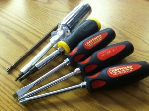 Assorted Screwdrivers